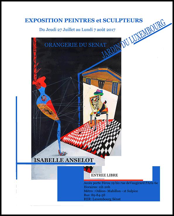 Exposition Luxembourg, juillet-août 2017